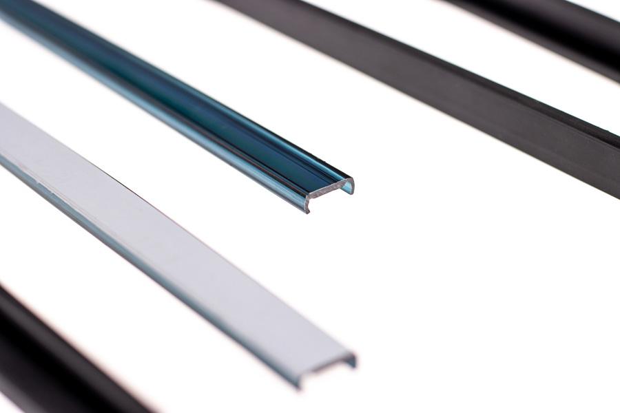 Ekstruzja tworzyw sztucznych - produkcja profili z plastiku, przesłonki do profili LED